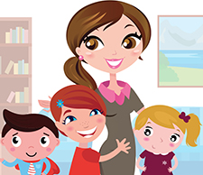 major co garde d 39 enfants domicile m nage repassage nounou domicile aides aux. Black Bedroom Furniture Sets. Home Design Ideas
